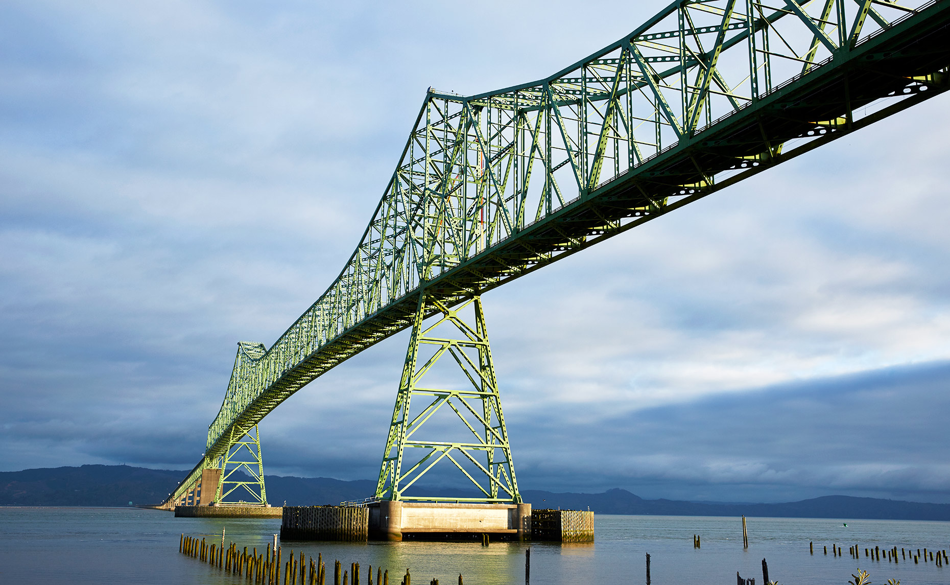 Brian Pietrini | Fine Art Landscape Photographer | Astoria Bridge Astoria Oregon | www.pietriniphoto.com